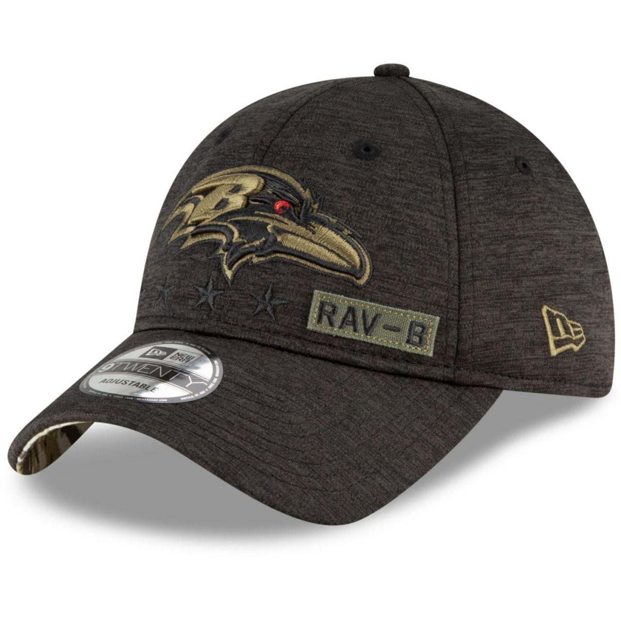 amfoo - New Era 9TWENTY Cap Salute to Service Baltimore Ravens