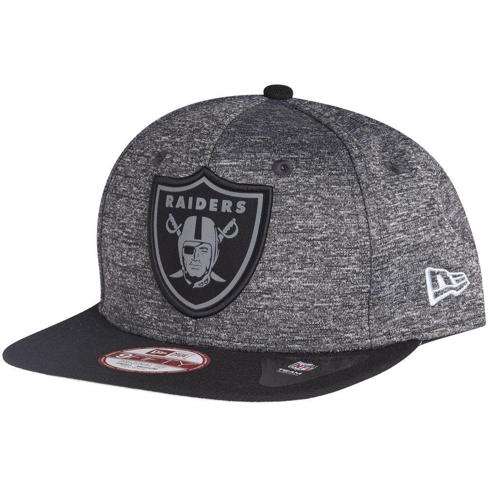 amfoo - New Era 9Fifty Snapback Cap - GREY Oakland Raiders