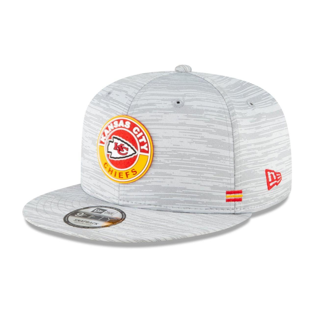 amfoo - New Era Snapback Kinder Cap SIDELINE 2020 Kansas City Chiefs