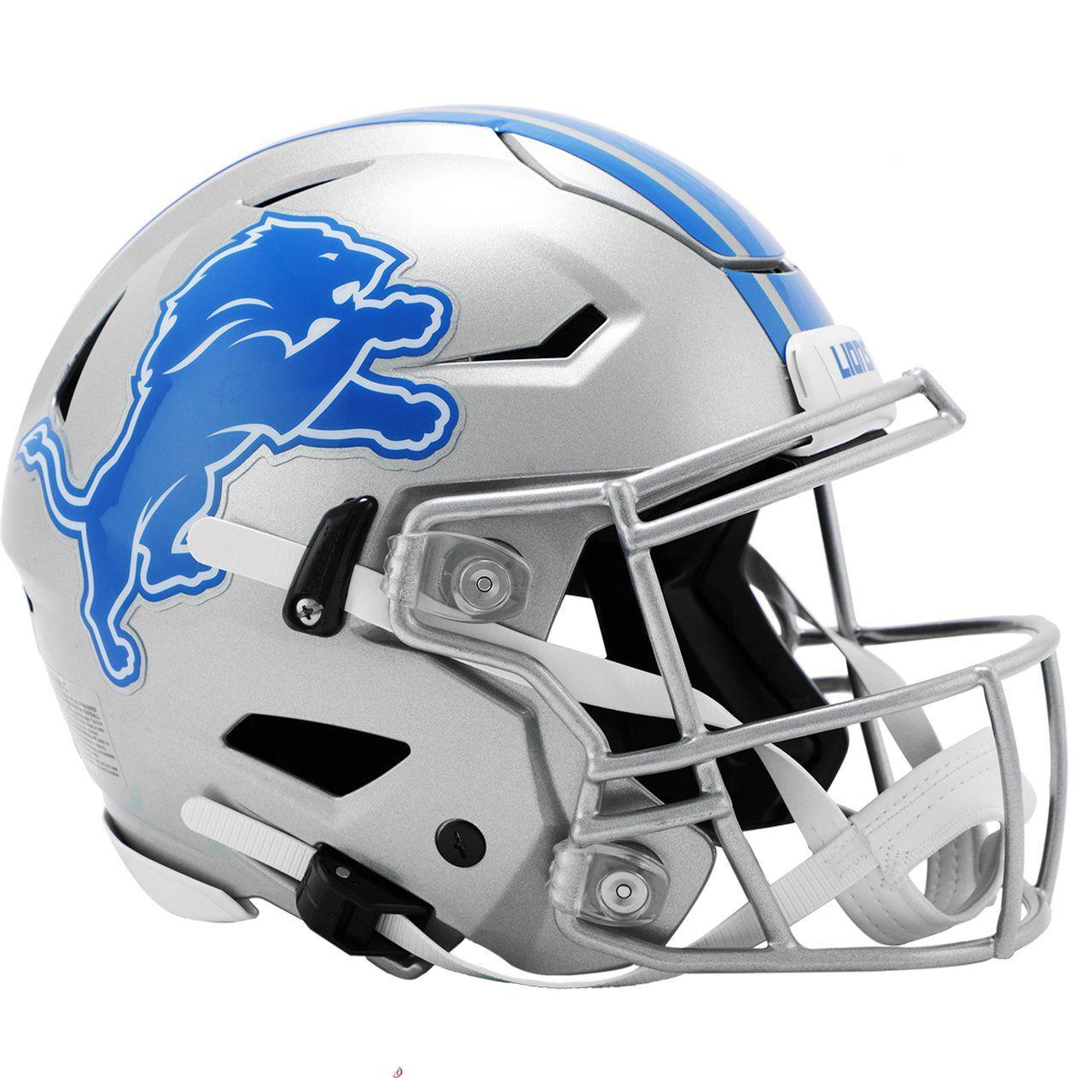amfoo - Riddell Authentic SpeedFlex Helm - NFL Detroit Lions