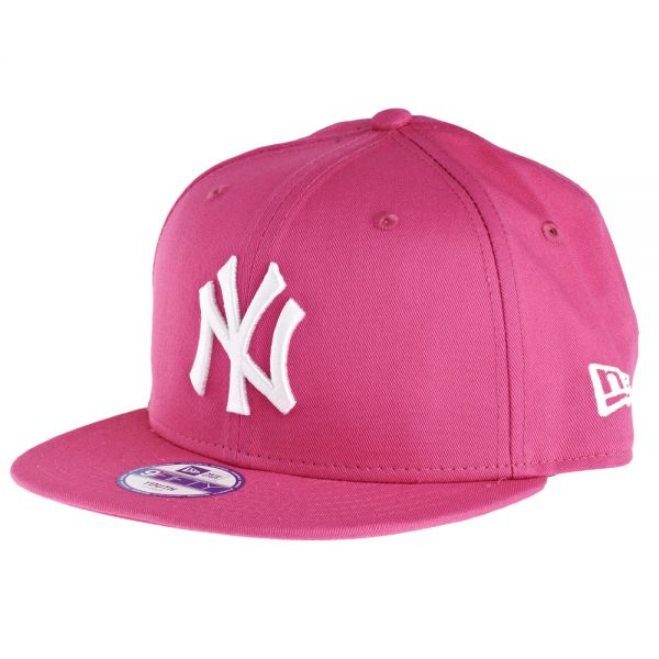 New Era 9Fifty Snapback KIDS Cap - NY Yankees pink