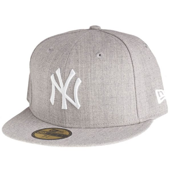 New Era 59Fifty Cap - HEATHER New York Yankees grau