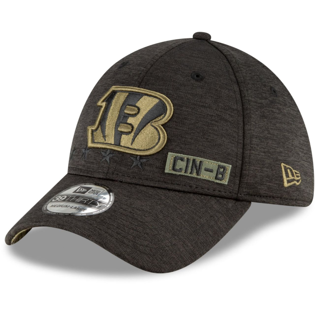 amfoo - New Era 39Thirty Cap Salute to Service Cincinnati Bengals
