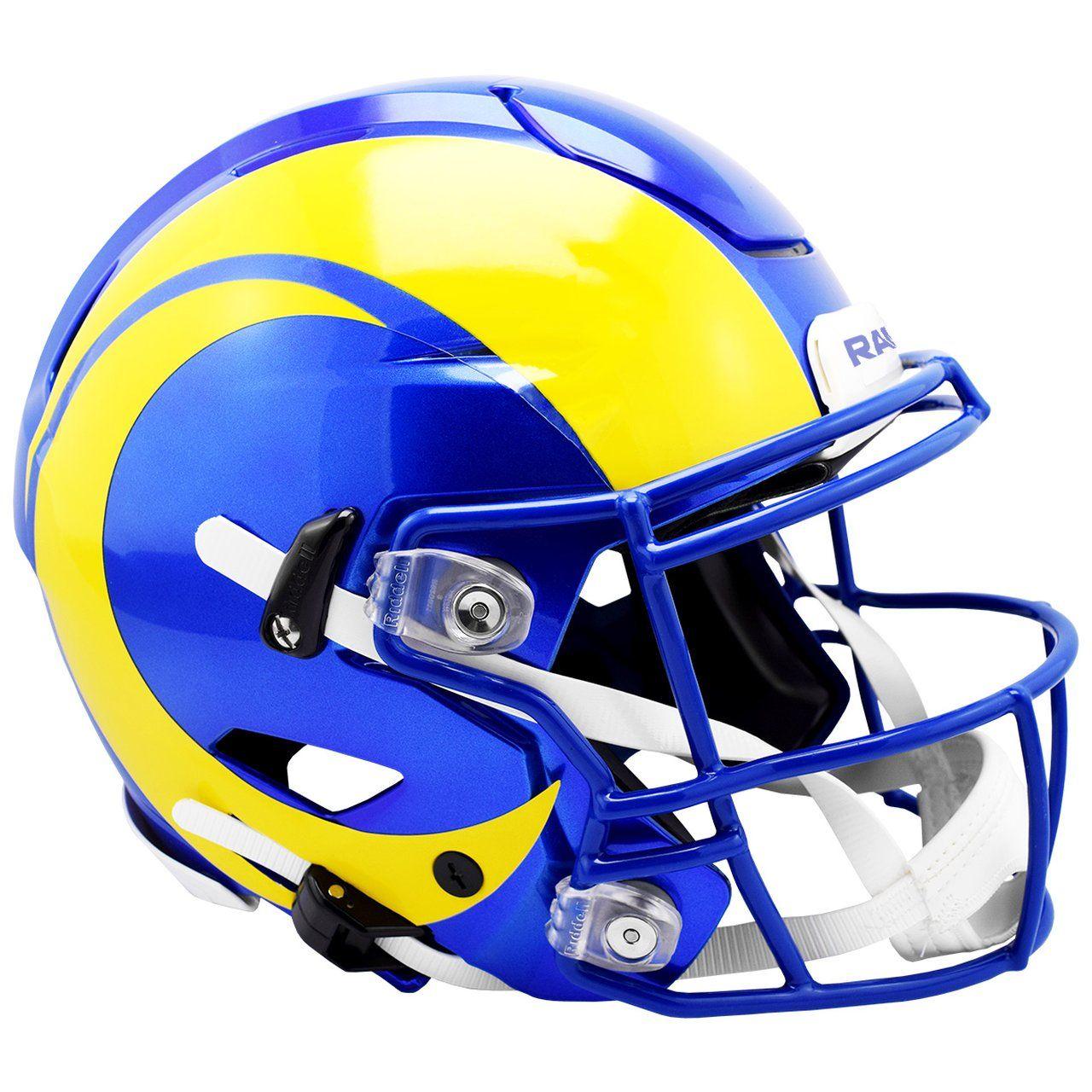 amfoo - Riddell Authentic SpeedFlex Helm - NFL Los Angeles Rams