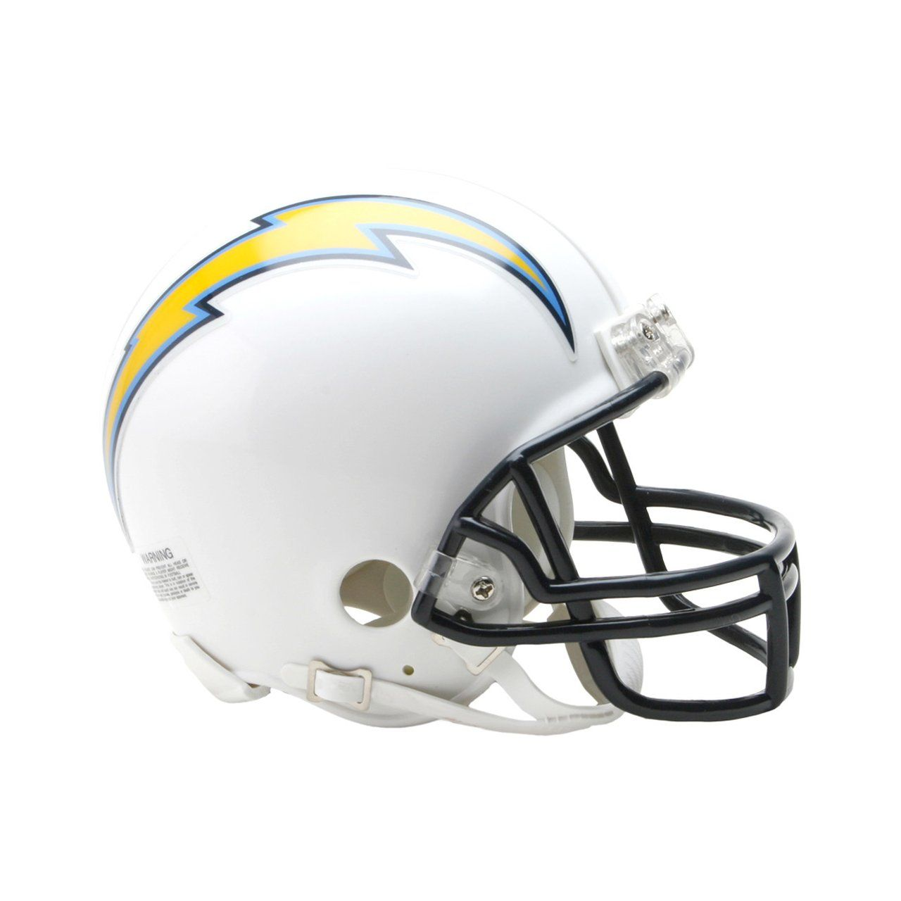 amfoo - Riddell VSR4 Mini Football Helm Los Angeles Chargers 2007-18