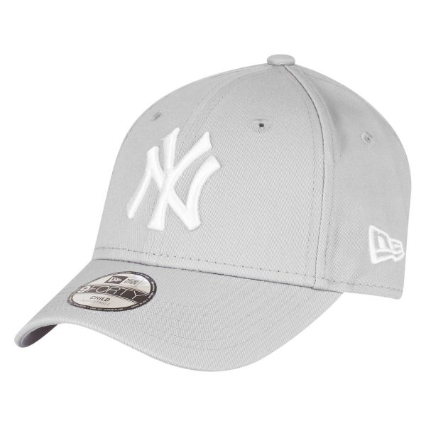 New Era 9Forty Stretched KIDS Cap - NY Yankees grau