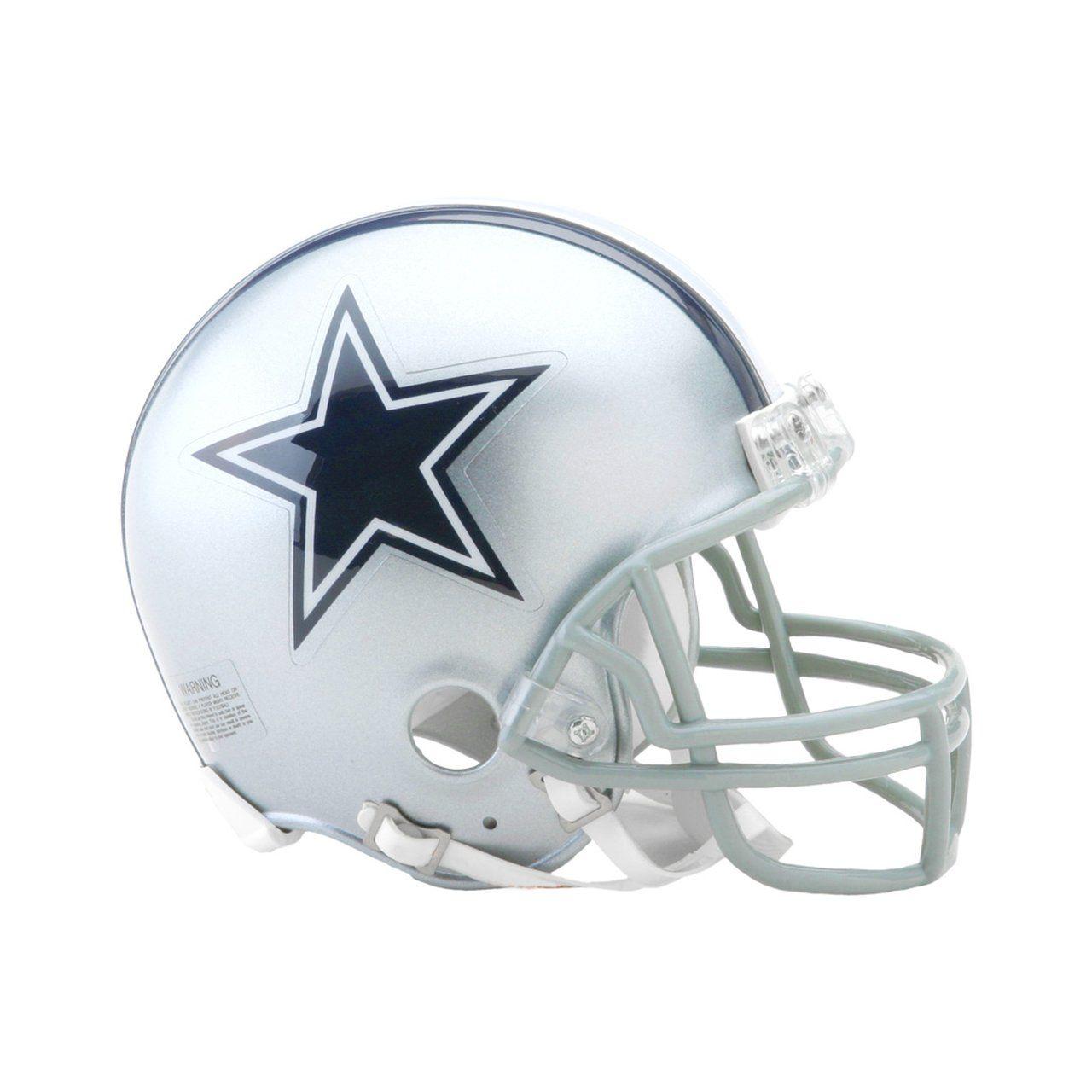 amfoo - Riddell VSR4 Mini Football Helm - NFL Dallas Cowboys