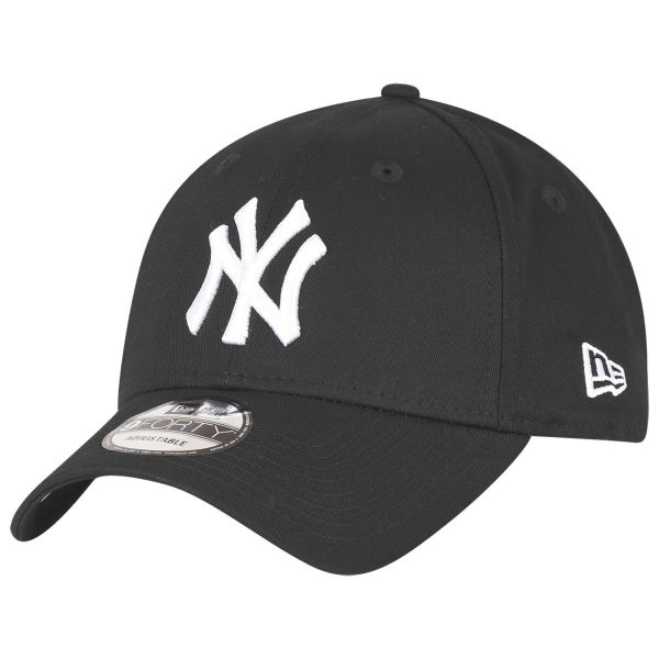 New Era 9Forty Cap - New York Yankees schwarz / weiß