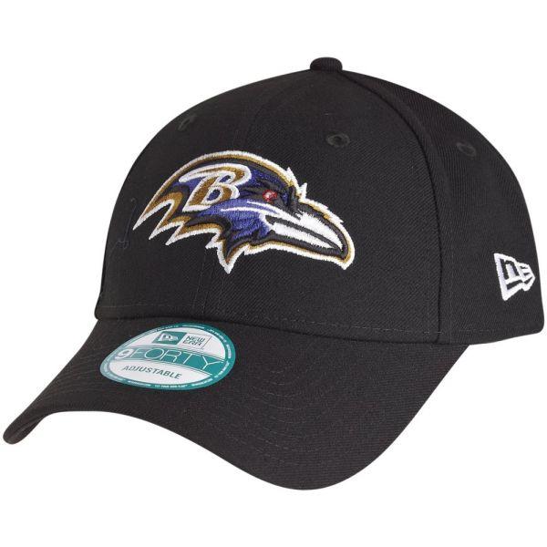 New Era 9Forty Cap - NFL LEAGUE Baltimore Ravens schwarz