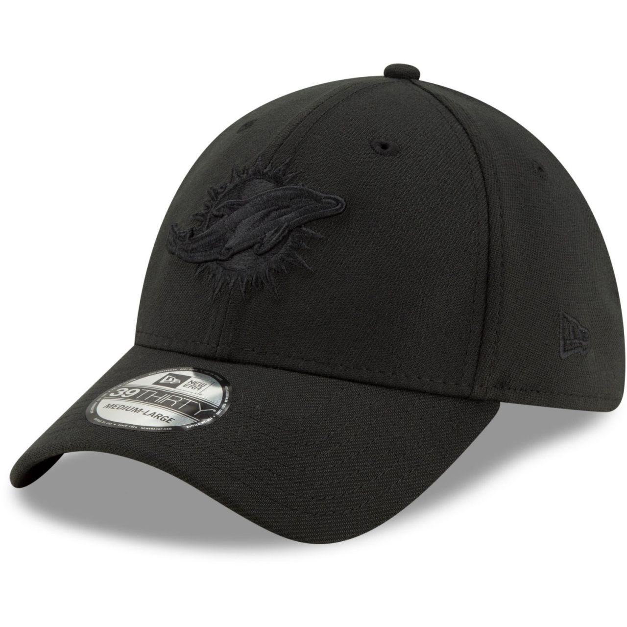 amfoo - New Era 39Thirty Stretch Cap - NFL Miami Dolphins