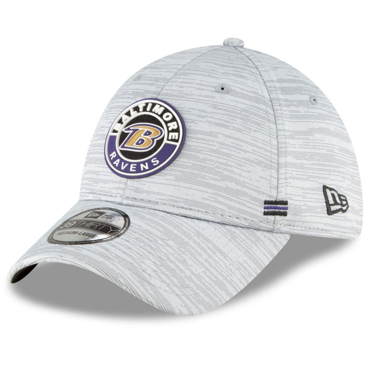 amfoo - New Era 39Thirty Cap - SIDELINE 2020 Baltimore Ravens