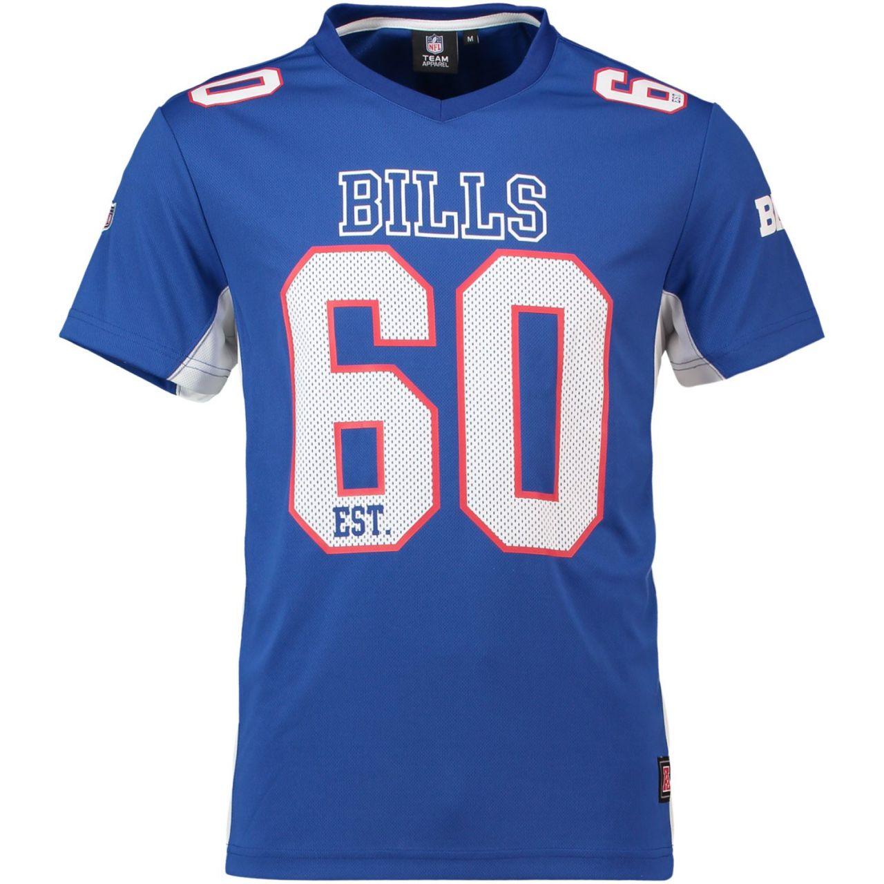 amfoo - Majestic NFL MORO Polymesh Jersey Shirt - Buffalo Bills