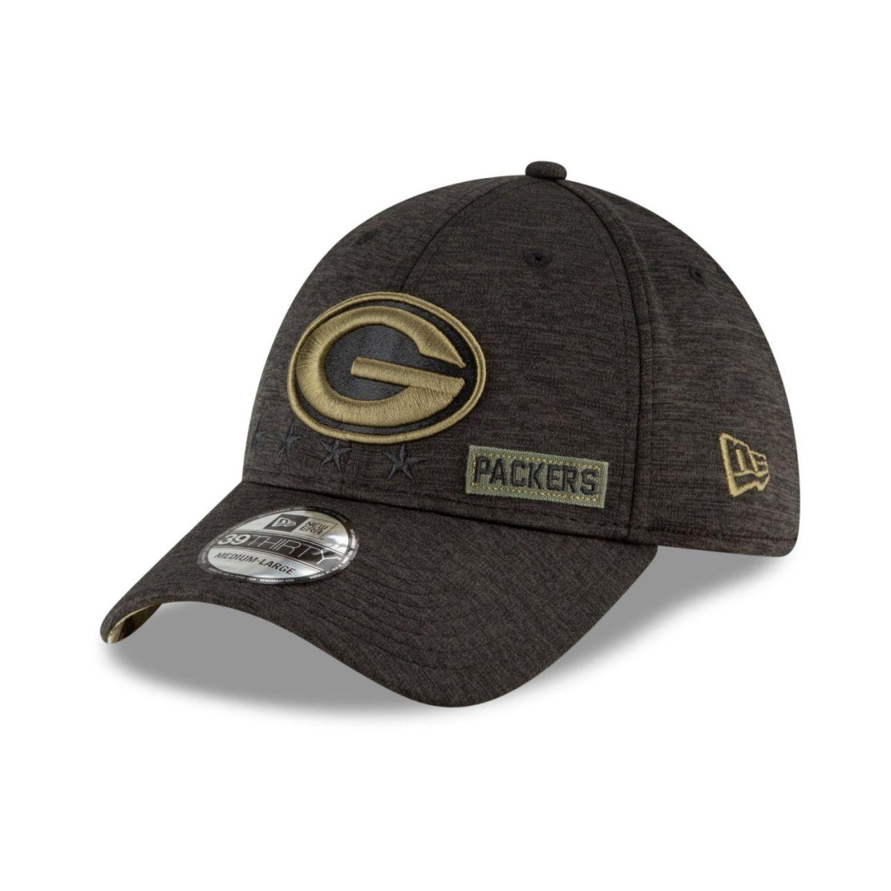 amfoo - New Era 39Thirty Kinder Cap SALUTE Green Bay Packers