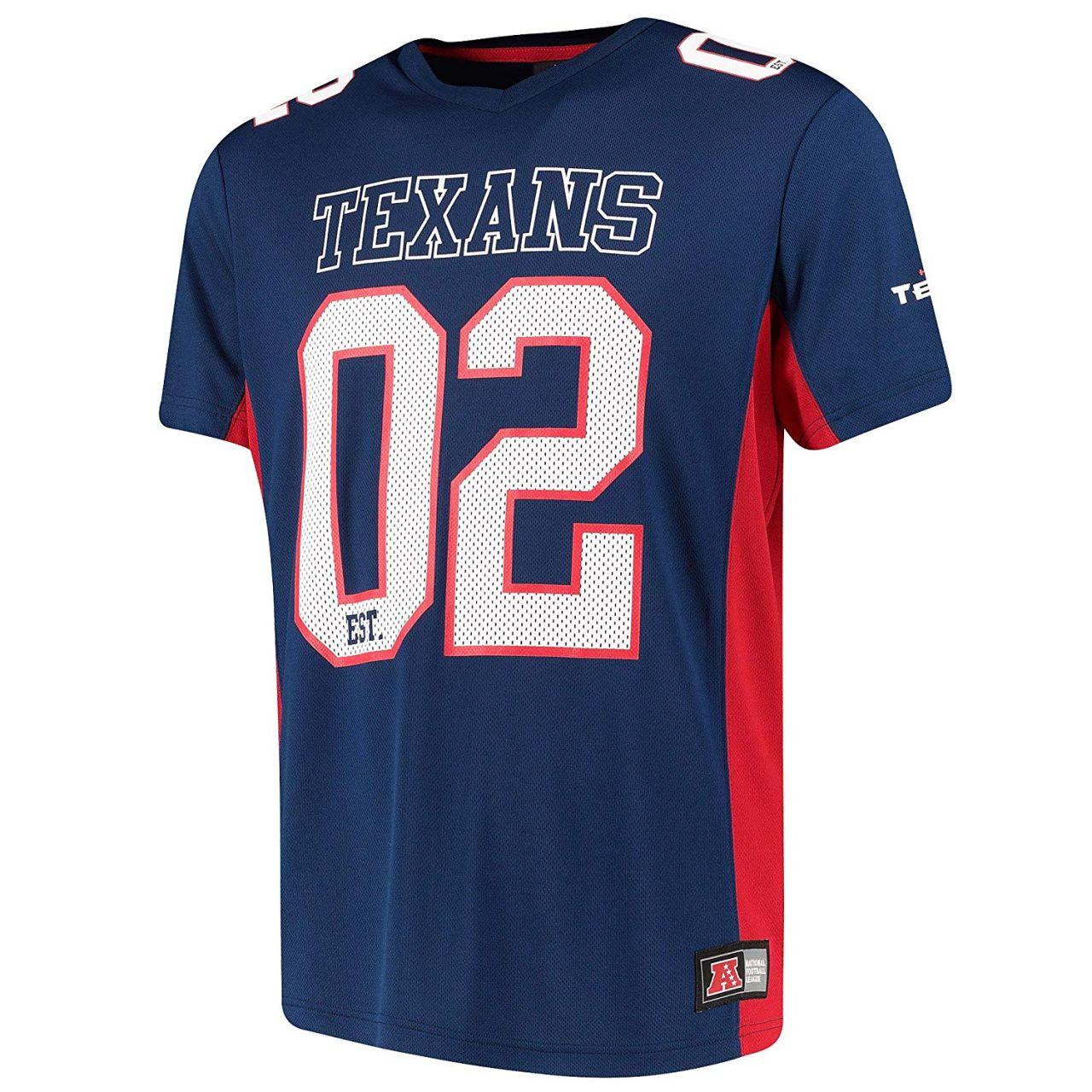 amfoo - Majestic NFL Mesh Polyester Jersey Shirt - Houston Texans
