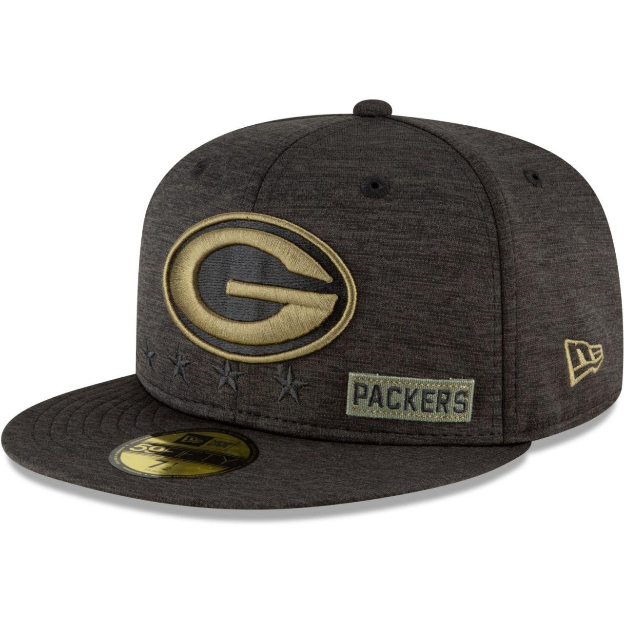 amfoo - New Era 59FIFTY Cap Salute to Service NFL Green Bay Packers