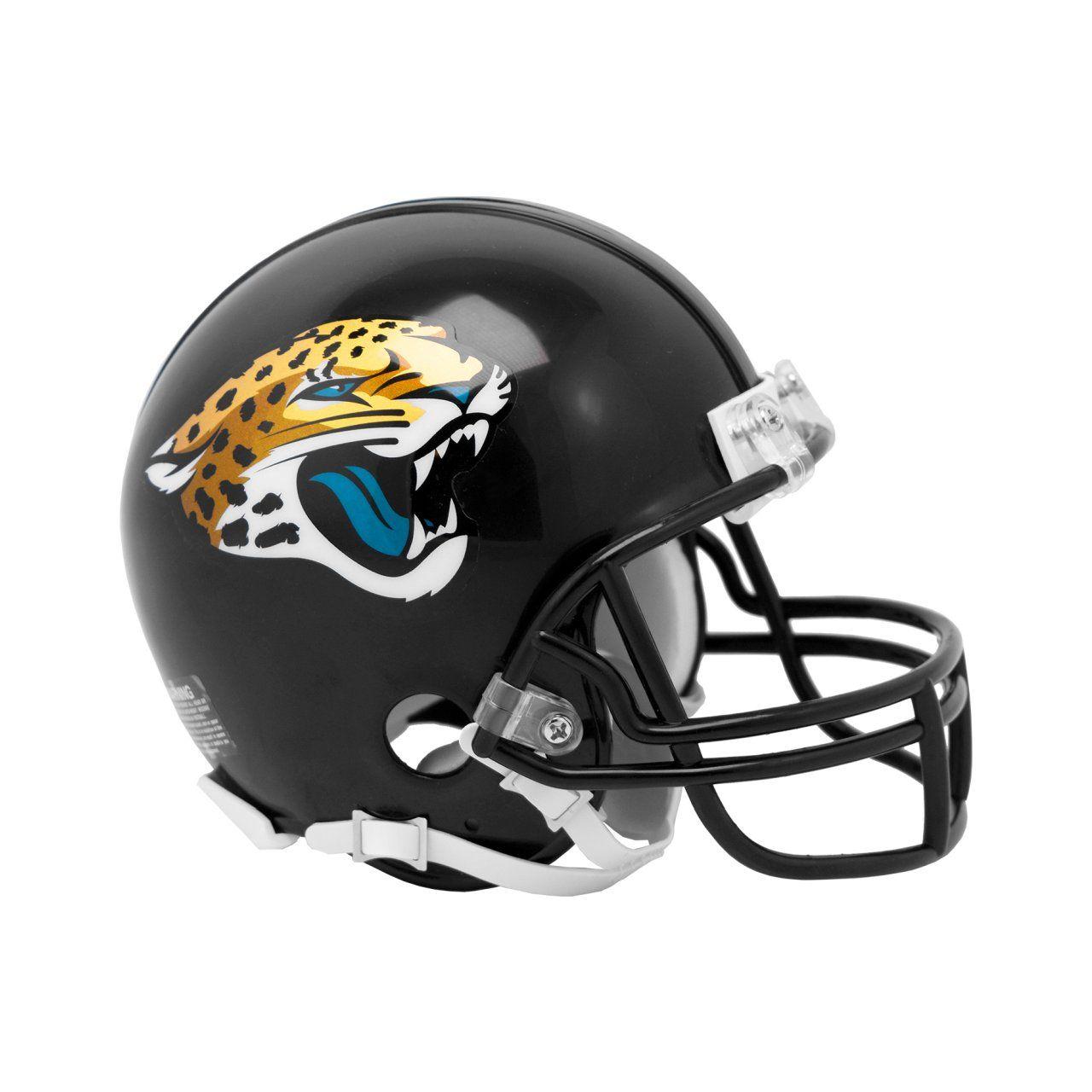 amfoo - Riddell VSR4 Mini Football Helm - NFL Jacksonville Jaguars