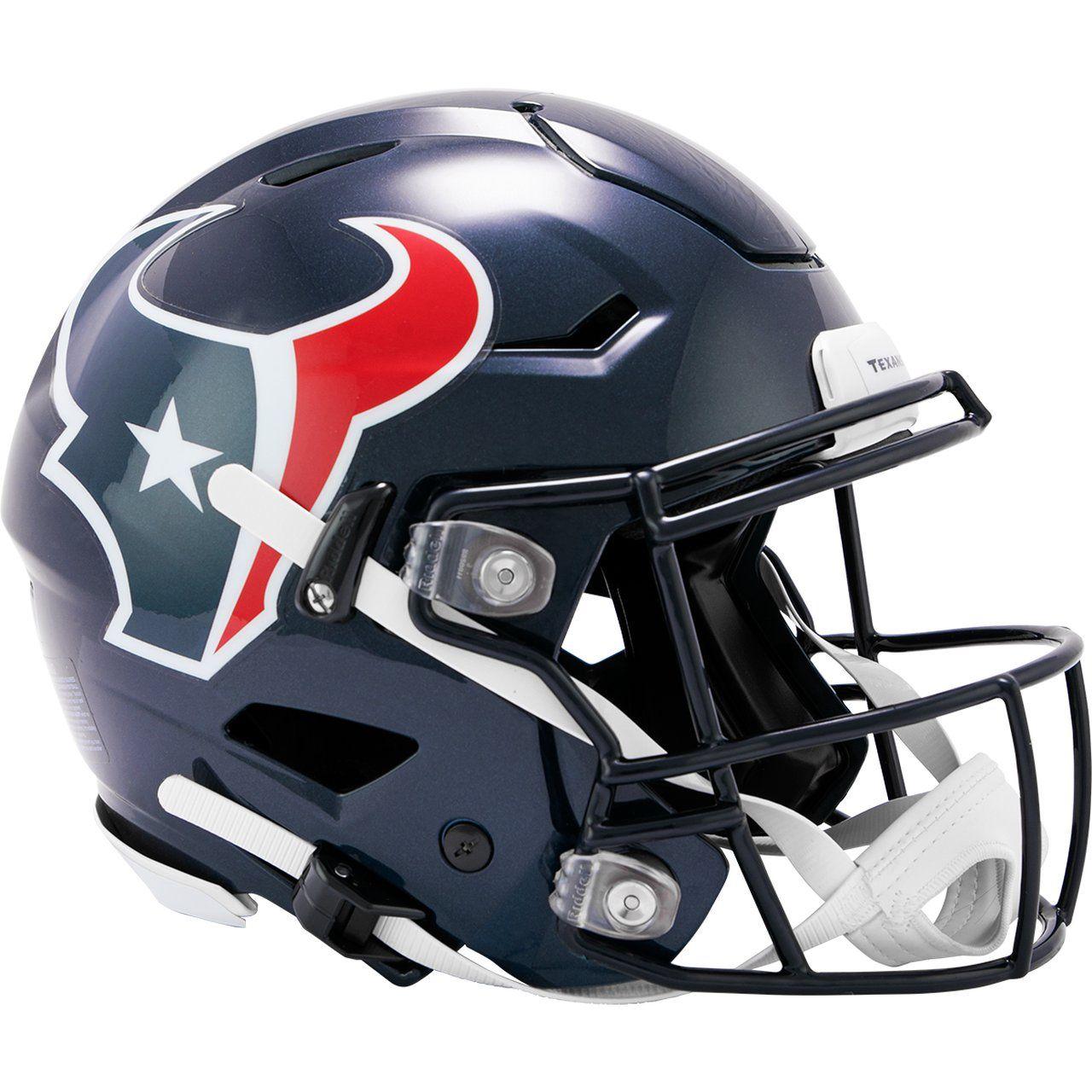amfoo - Riddell Authentic SpeedFlex Helm - NFL Houston Texans