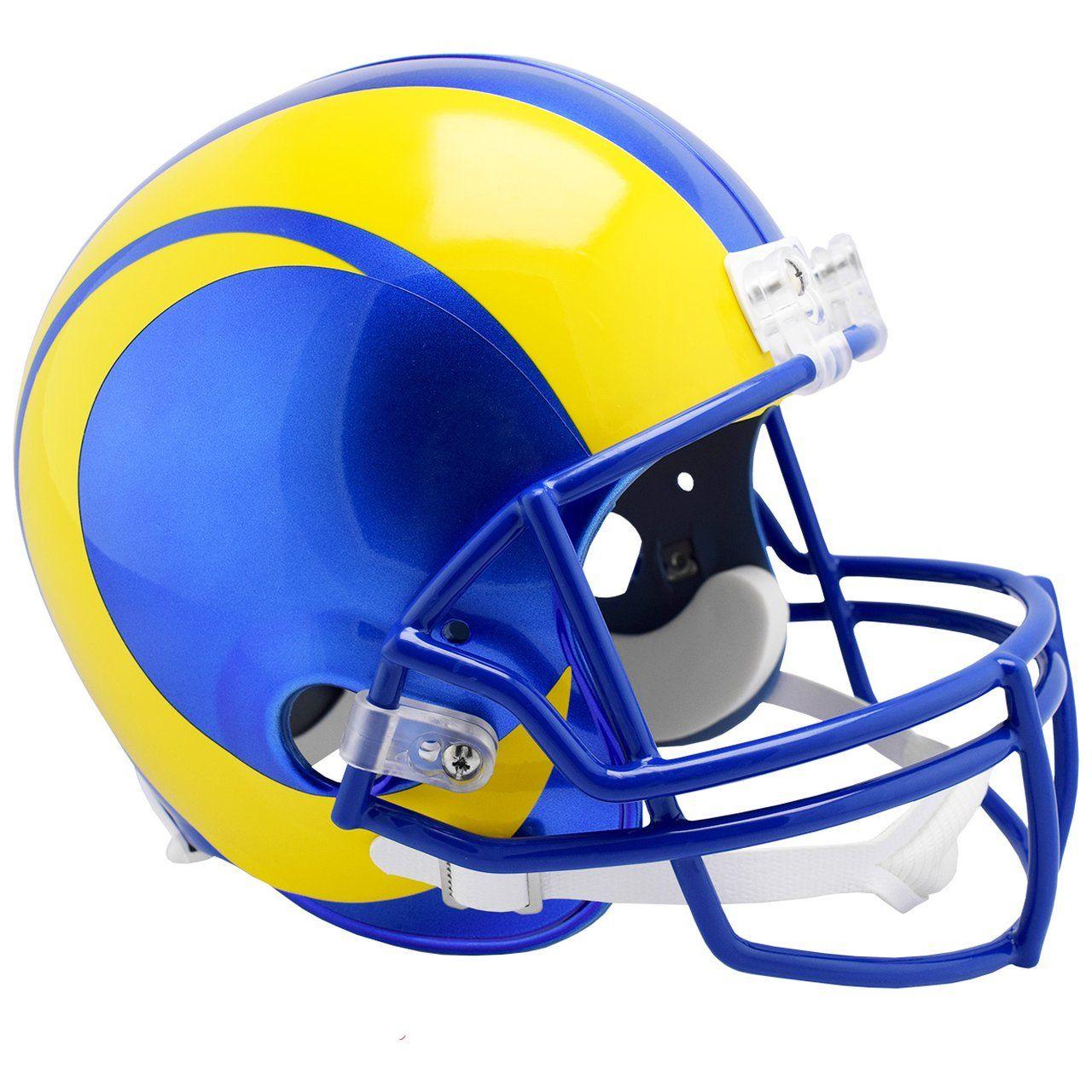 amfoo - Riddell VSR4 Replica Football Helm - Los Angeles Rams 2020