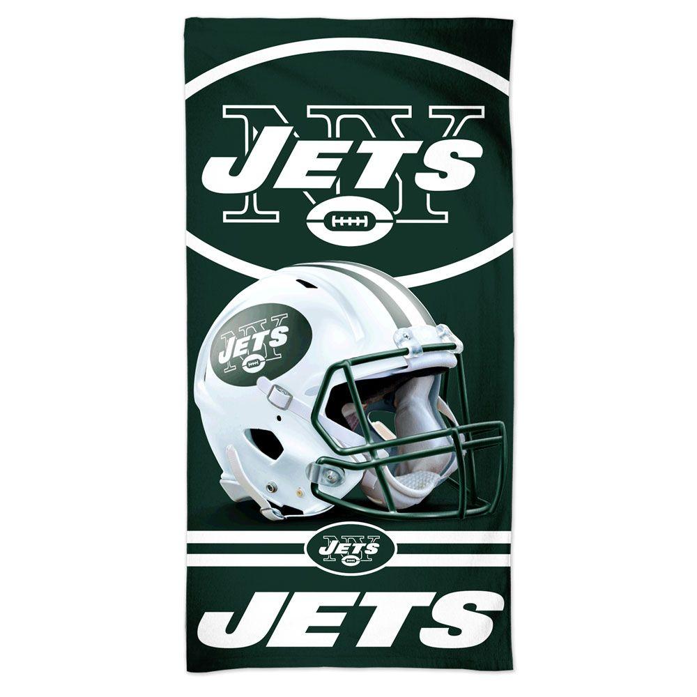 amfoo - Wincraft NFL New York Jets 3D Strandtuch 150x75cm