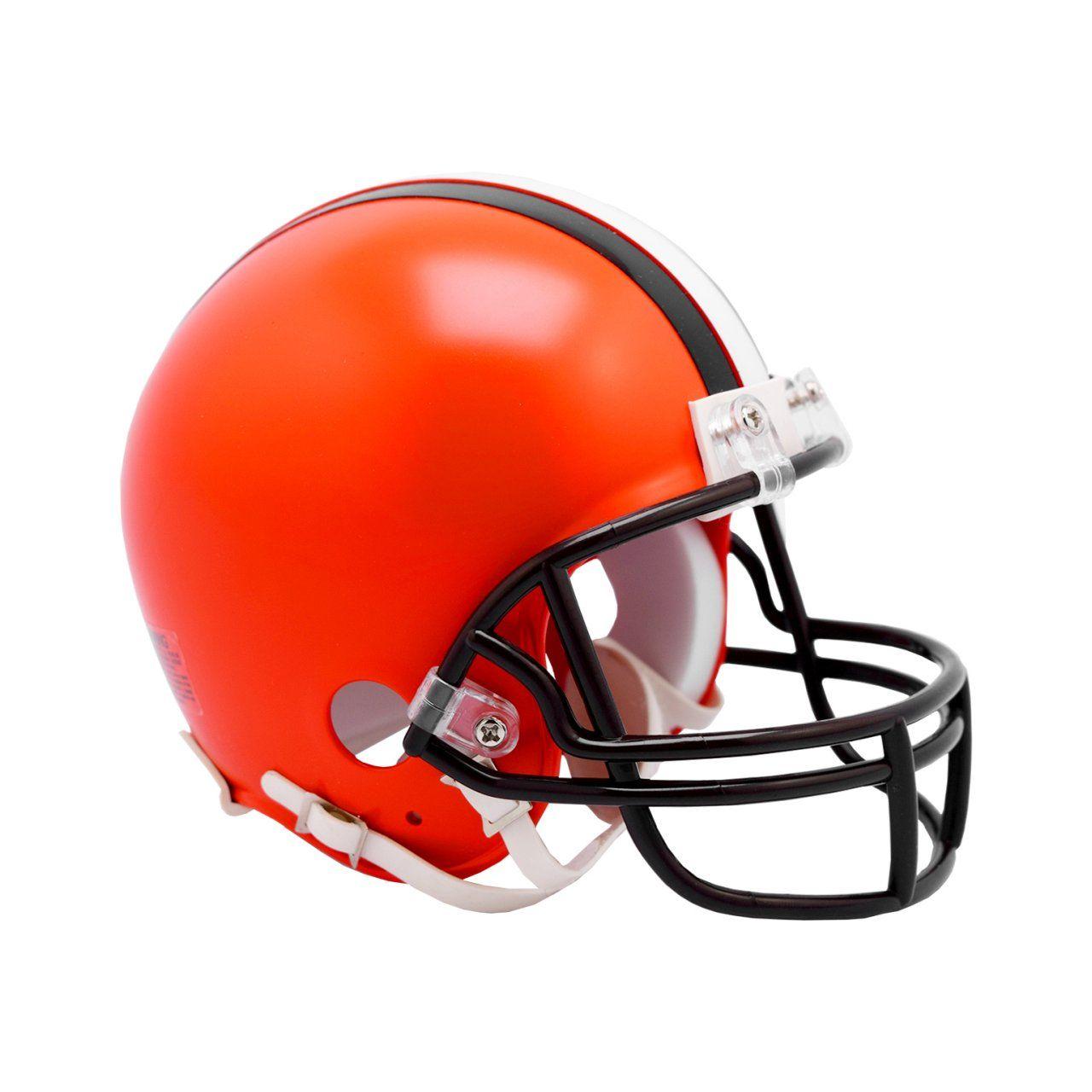 amfoo - Riddell VSR4 Mini Football Helm - NFL Cleveland Browns