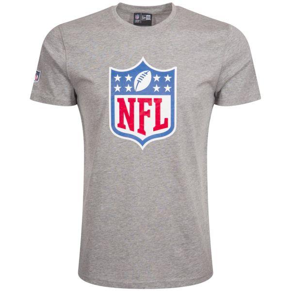 New Era Basic Shirt - NFL Shield Logo grau