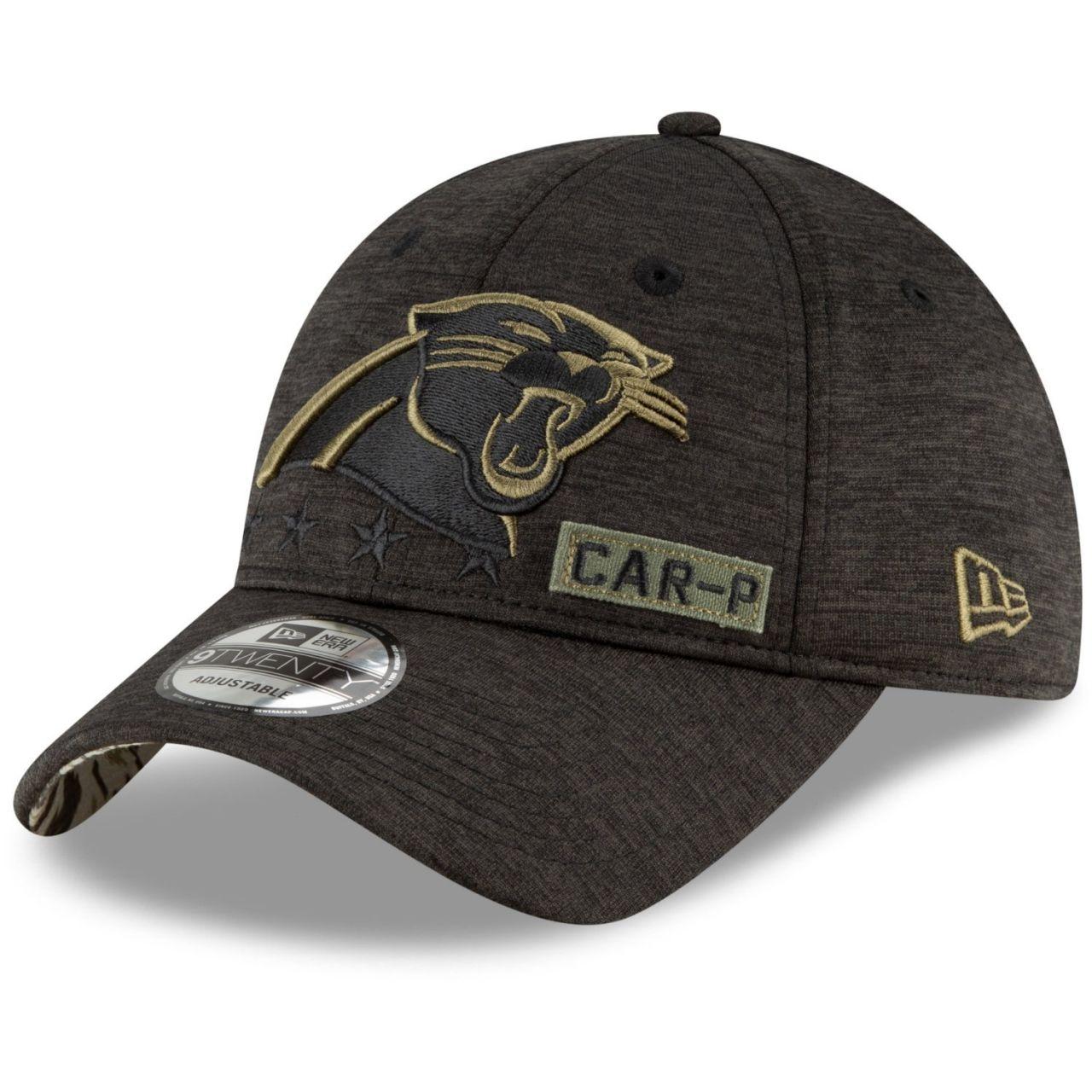 amfoo - New Era 9TWENTY Cap Salute to Service Carolina Panthers