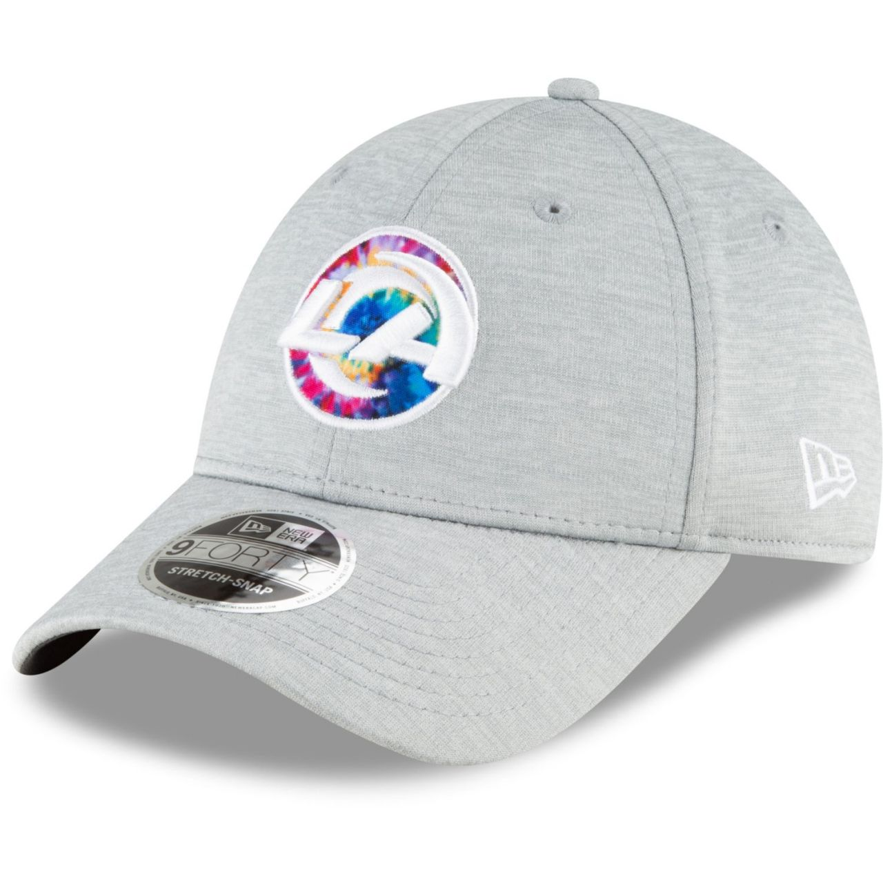 amfoo - New Era 9FORTY Stretch Cap - CRUCIAL CATCH Los Angeles Rams