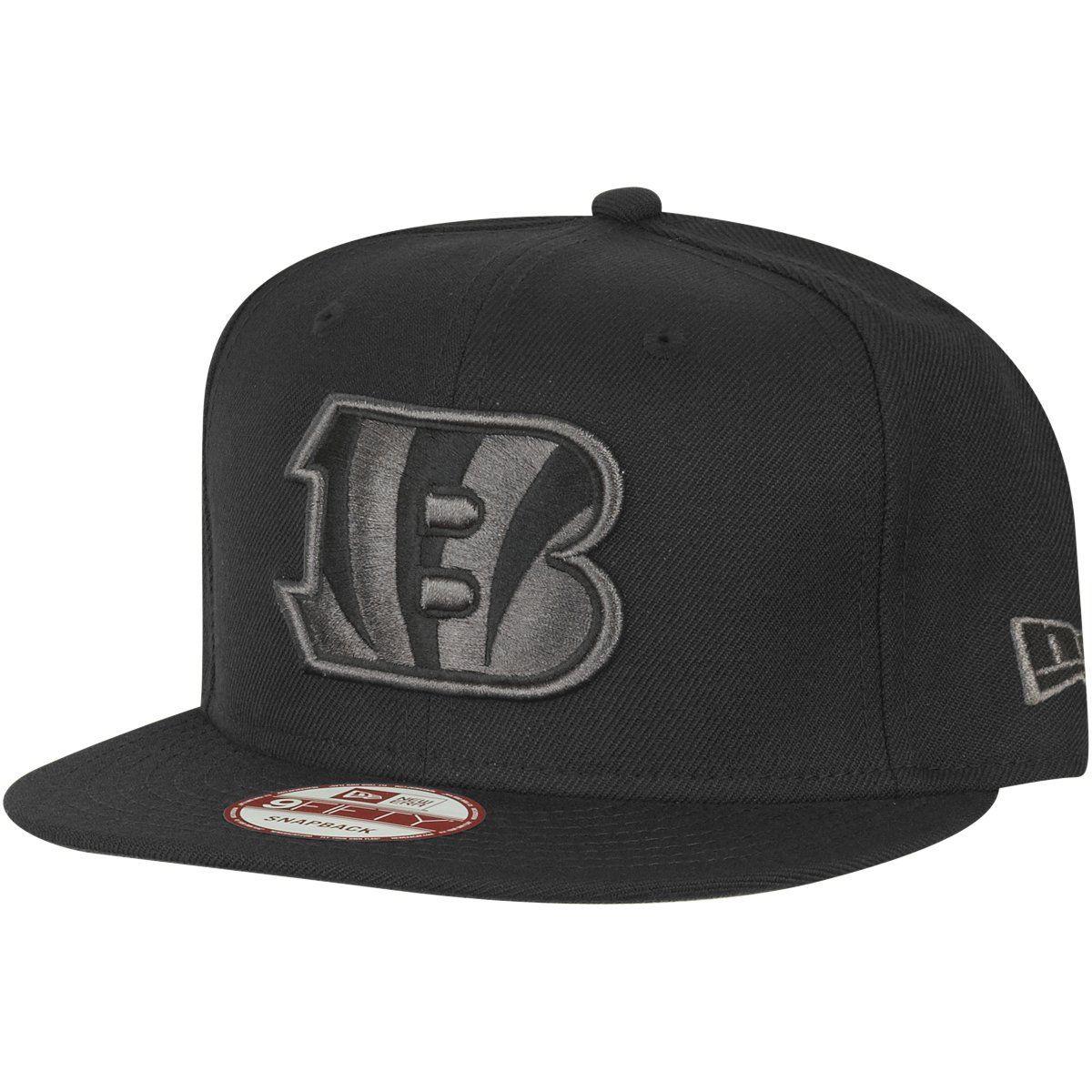 amfoo - New Era 9Fifty Snapback Cap - Cincinnati Bengals schwarz