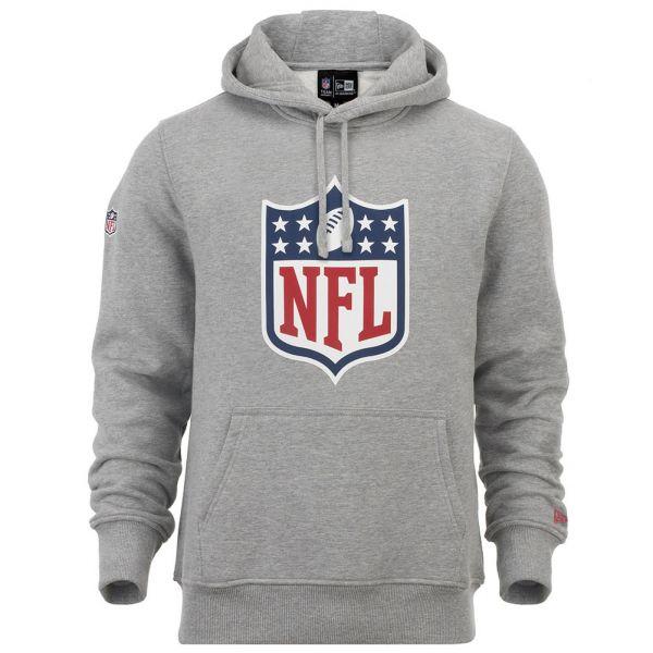 New Era Hoody - NFL LIGA LOGO grau