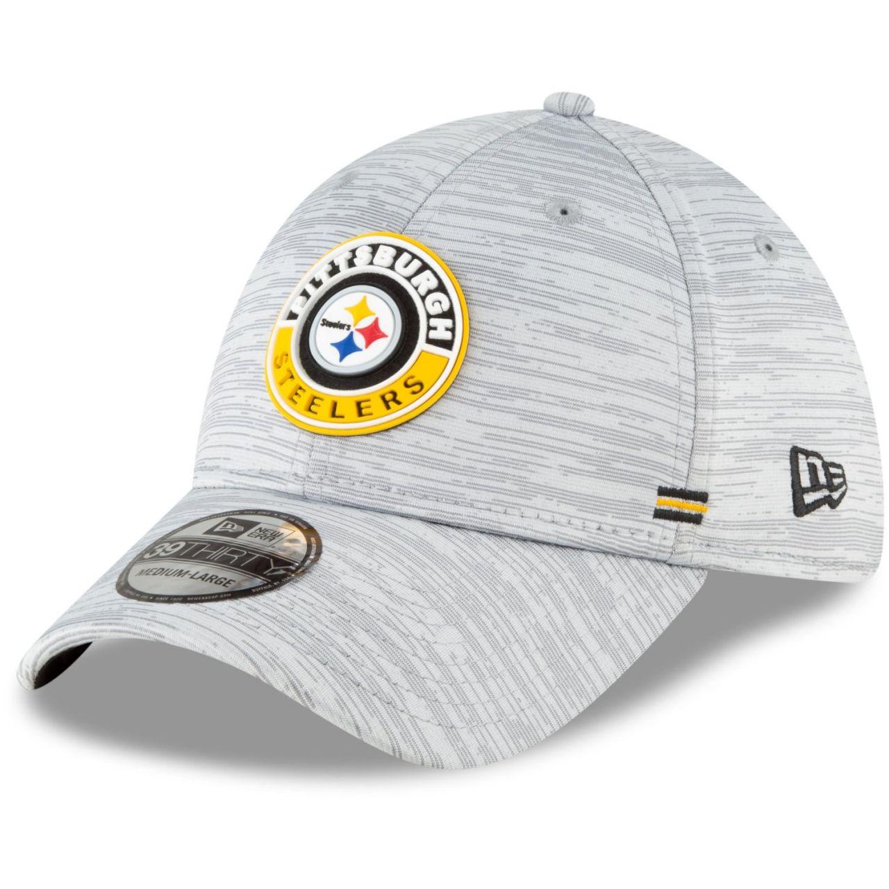 amfoo - New Era 39Thirty Cap - SIDELINE 2020 Pittsburgh Steelers