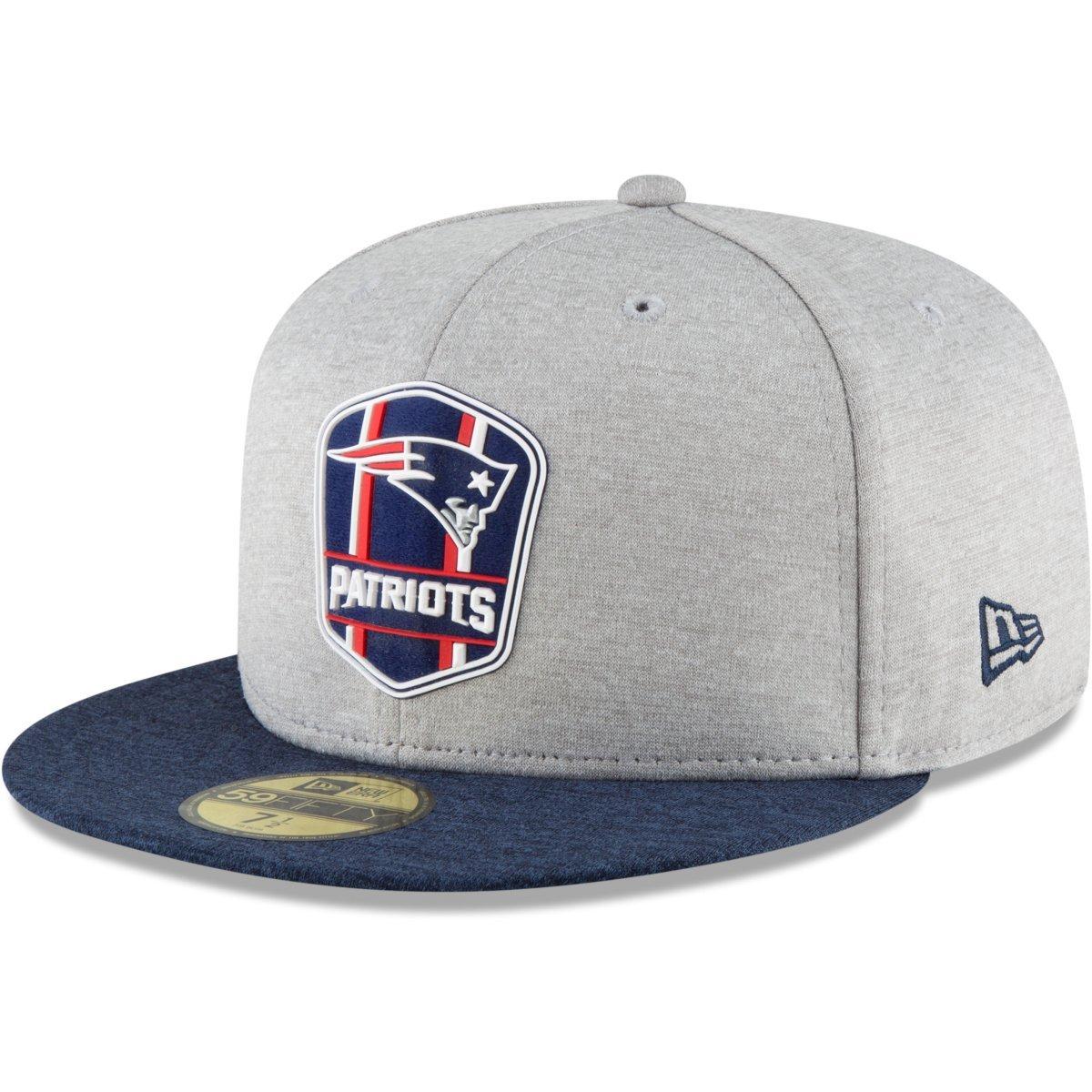 New Era 59Fifty Cap PLATINUM Sideline New England Patriots