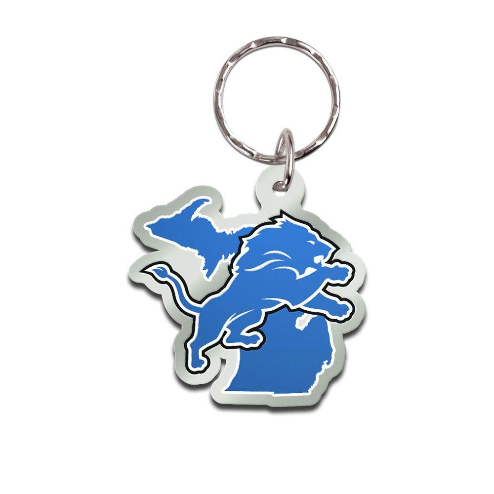 amfoo - Wincraft STATE Schlüsselanhänger - NFL Detroit Lions