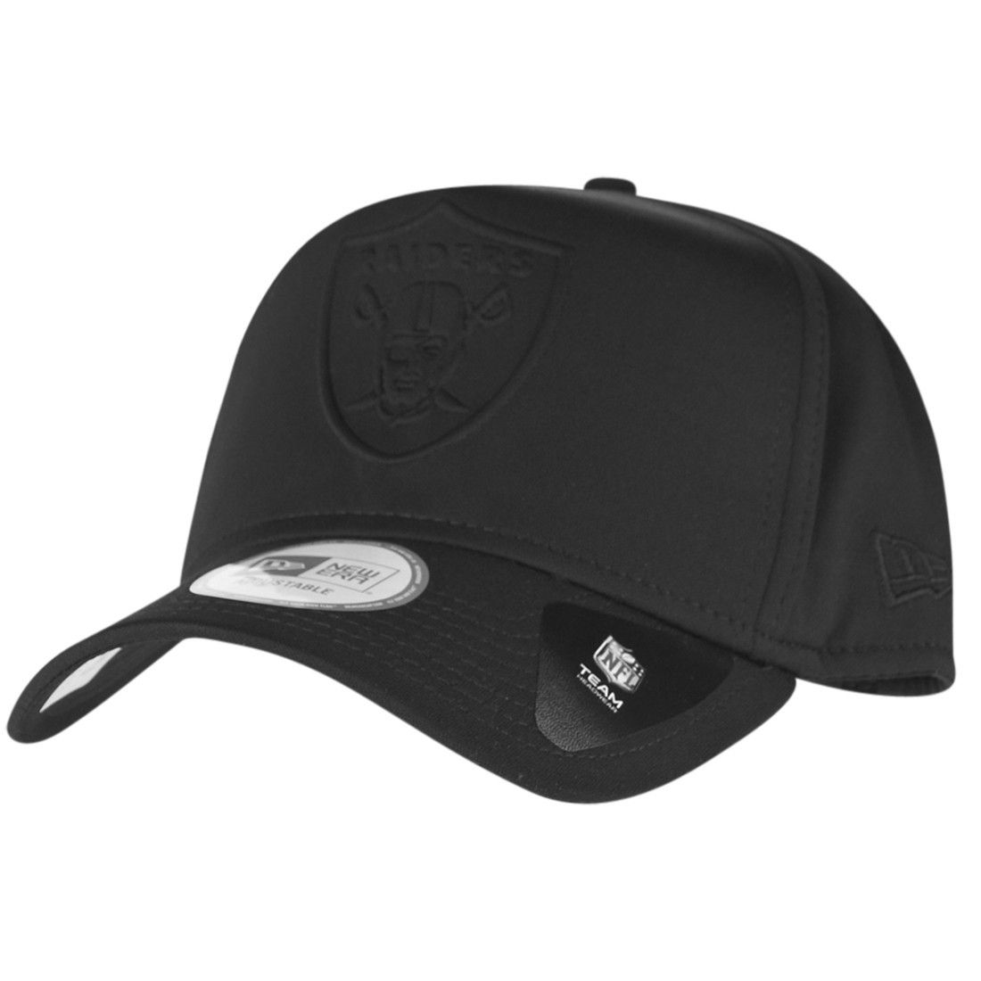 amfoo - New Era A-Frame Trucker Cap - NFL Oakland Raiders schwarz