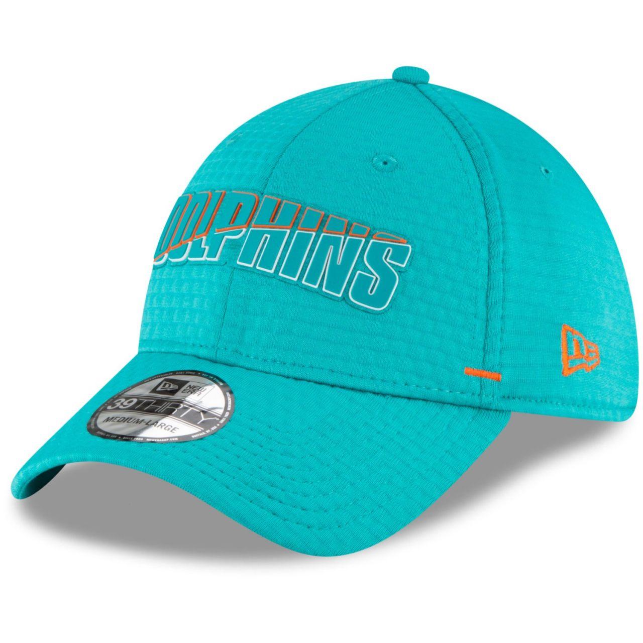 amfoo - New Era 39Thirty Cap - NFL Training Camp Miami Dolphins