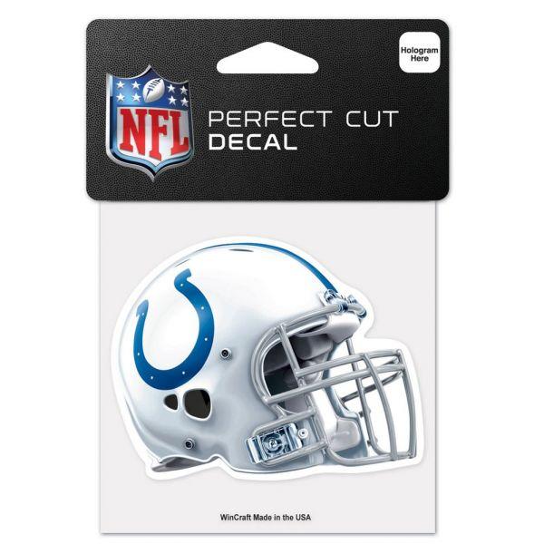 Wincraft Helm Aufkleber 10x10cm - NFL Indianapolis Colts