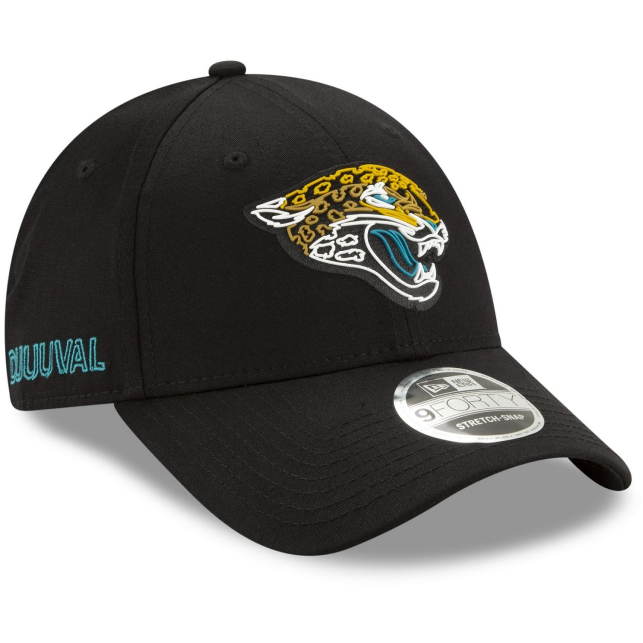 amfoo - New Era 9FORTY Stretch Cap - 2020 DRAFT Jacksonville Jaguars