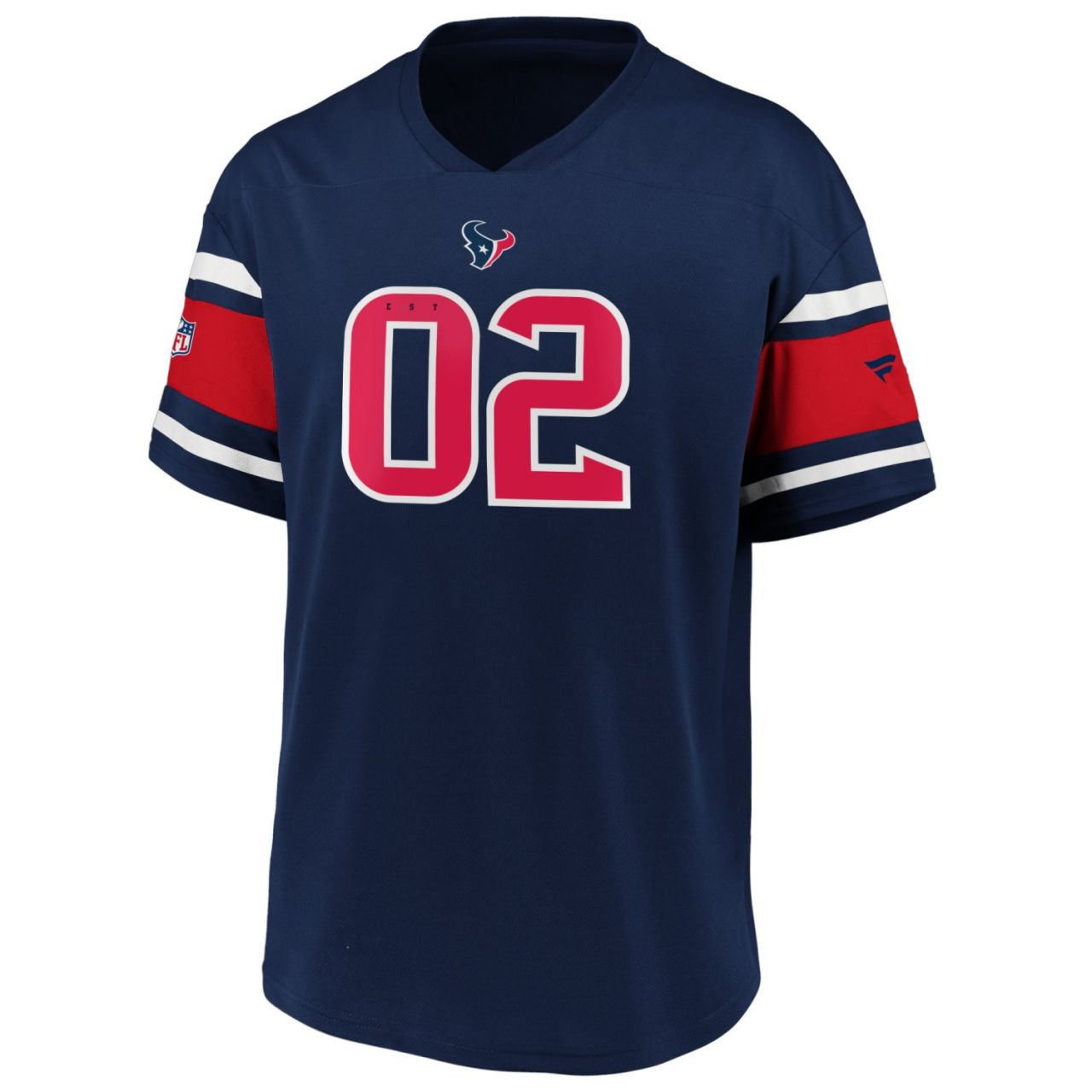 amfoo - Iconic Poly Mesh Supporters Jersey Trikot - Houston Texans