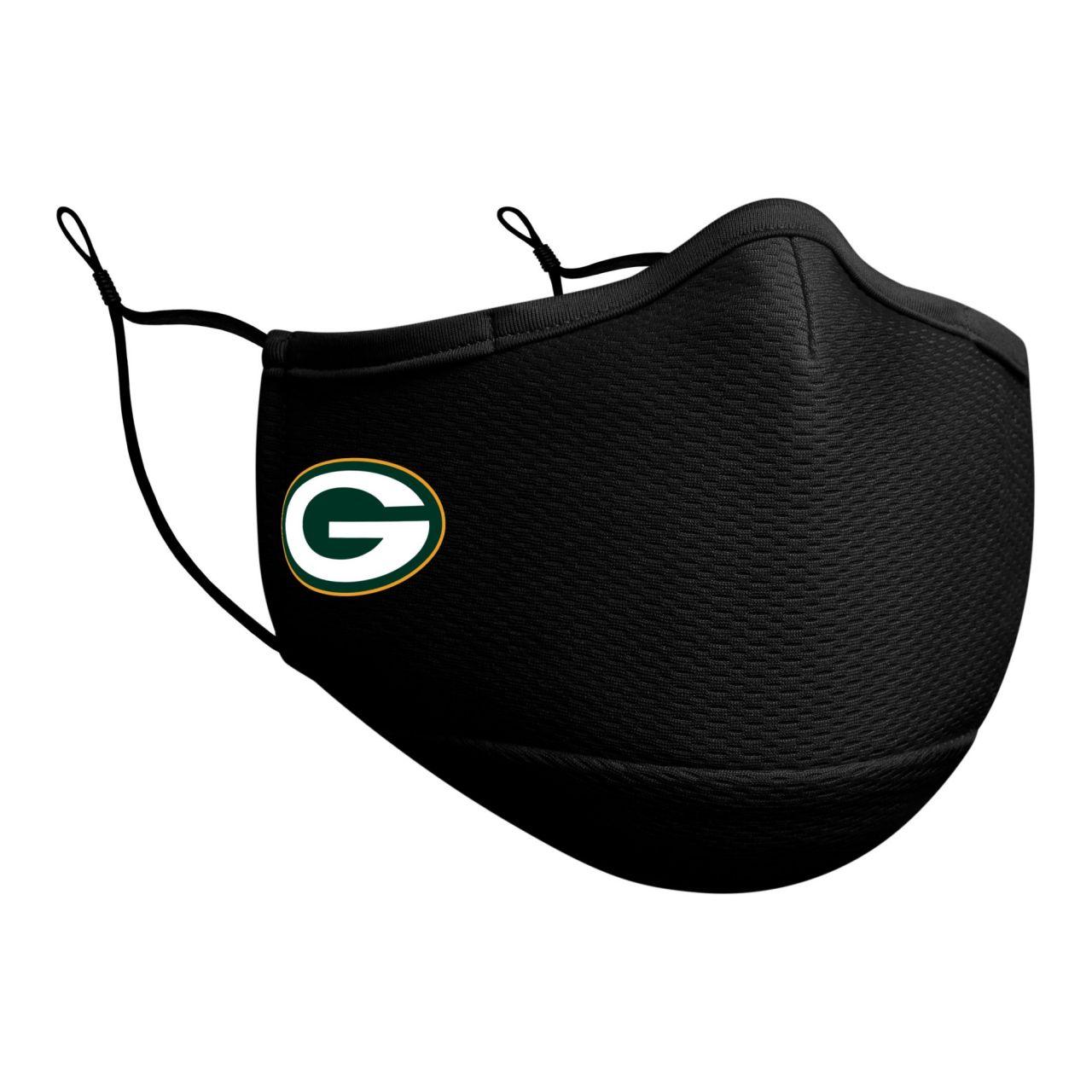 New Era NFL Face Mask Gesichtsmaske - Green Bay Packers