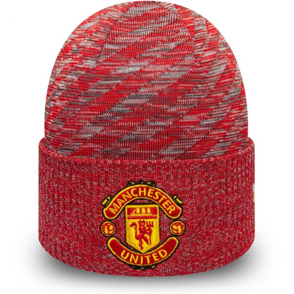 New Era Wintermütze Beanie - PATTERN Manchester United rot