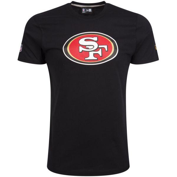 New Era Basic Shirt - NFL San Francisco 49ers schwarz