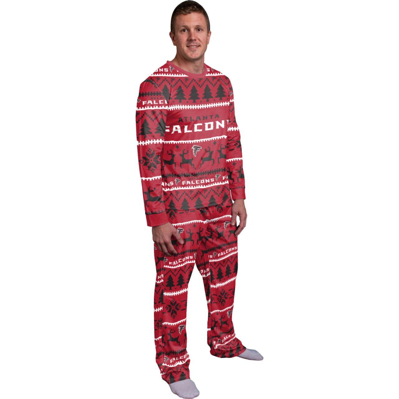 amfoo - NFL Winter XMAS Pyjama Schlafanzug - Atlanta Falcons
