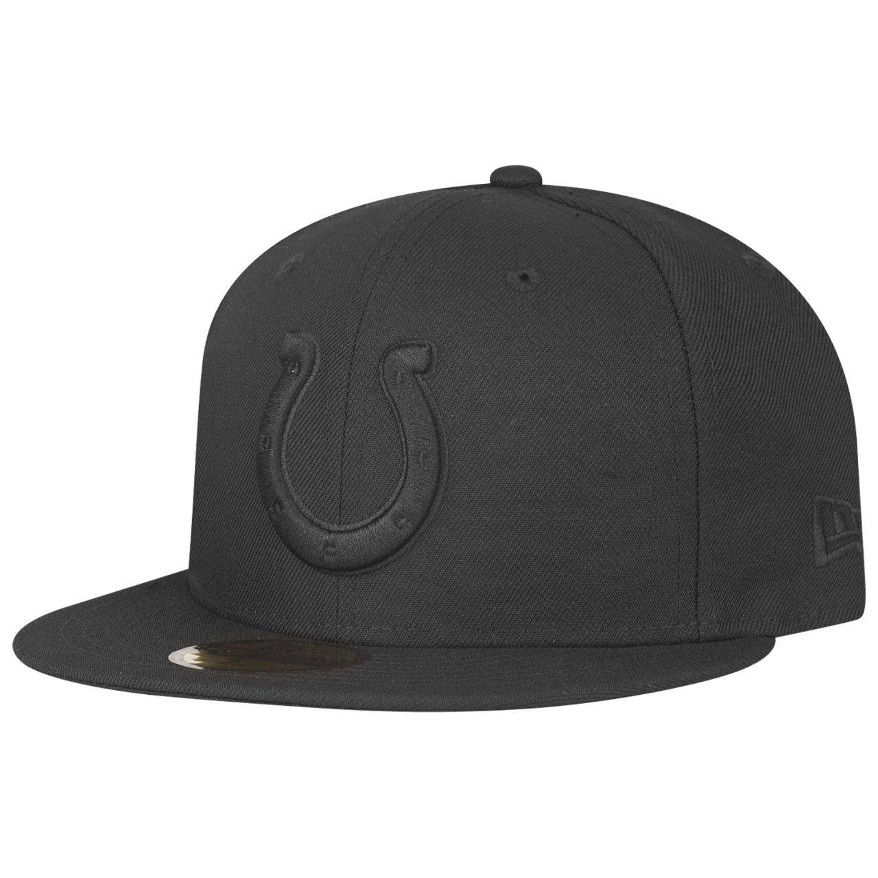 amfoo - New Era 59Fifty Cap - NFL BLACK Indianapolis Colts