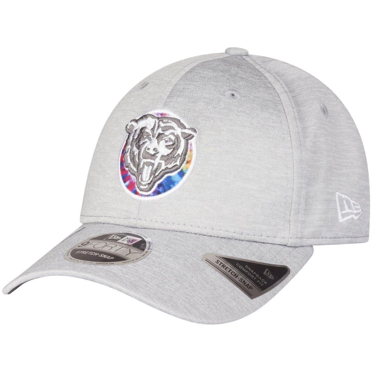 amfoo - New Era 9FORTY Stretch Cap - CRUCIAL CATCH Chicago Bears