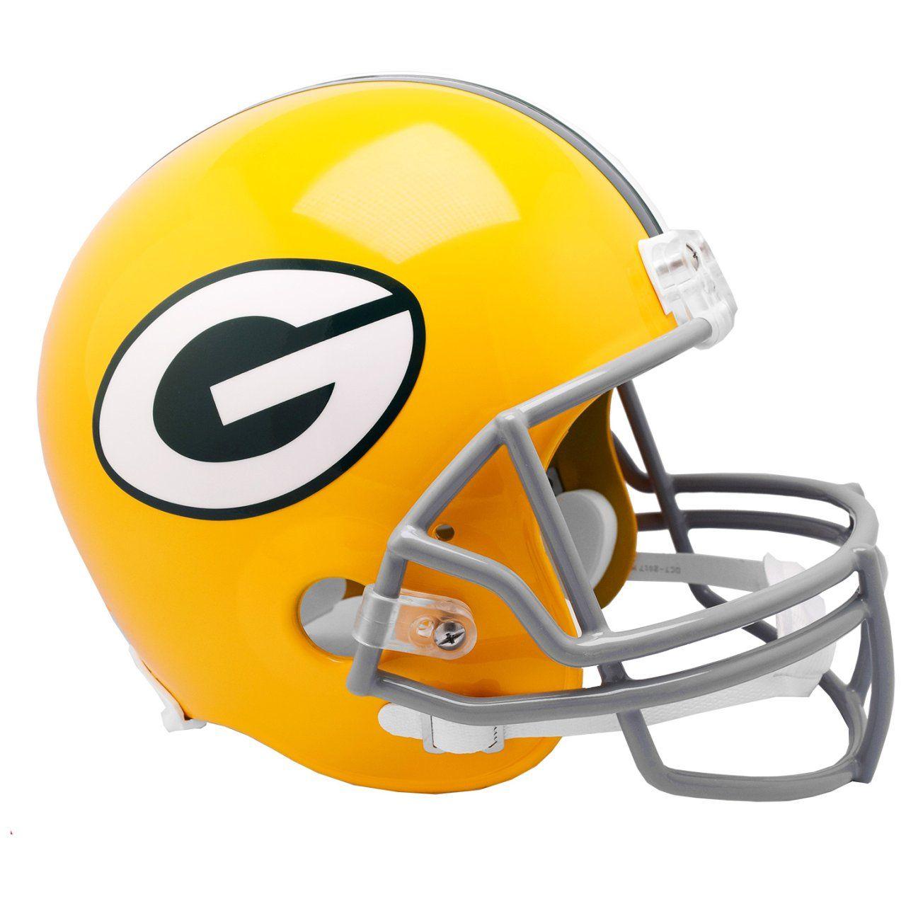 amfoo - Riddell VSR4 Replica Football Helm - Green Bay Packers 61-79