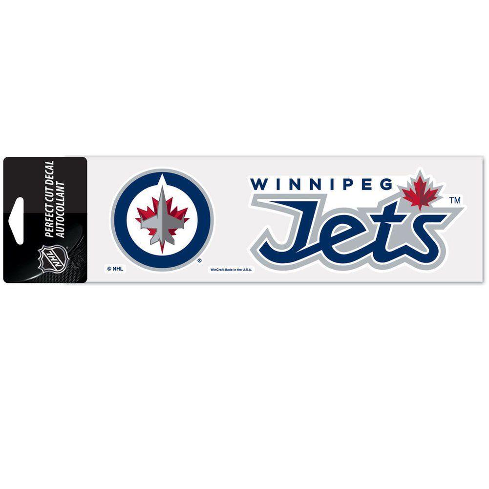 amfoo - Wincraft Aufkleber 8x25cm - NHL Winnipeg Jets