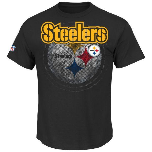 Majestic NFL RAIYNA Shirt - Pittsburgh Steelers schwarz