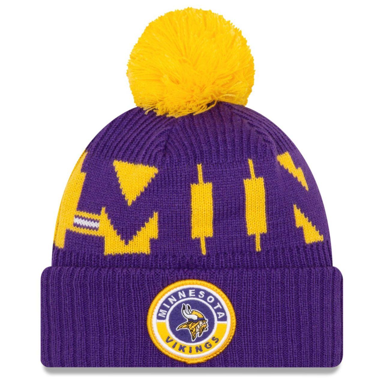 amfoo - New Era NFL ON-FIELD Sideline Mütze - Minnesota Vikings