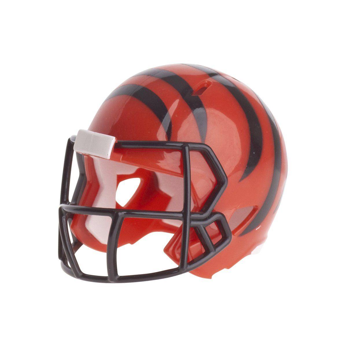 amfoo - Riddell Speed Pocket Football Helm - NFL Cincinnati Bengals