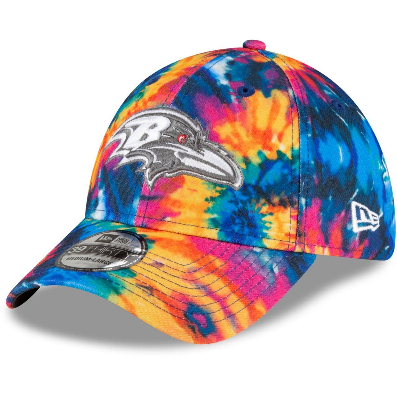 amfoo - New Era 39Thirty Cap - CRUCIAL CATCH Baltimore Ravens