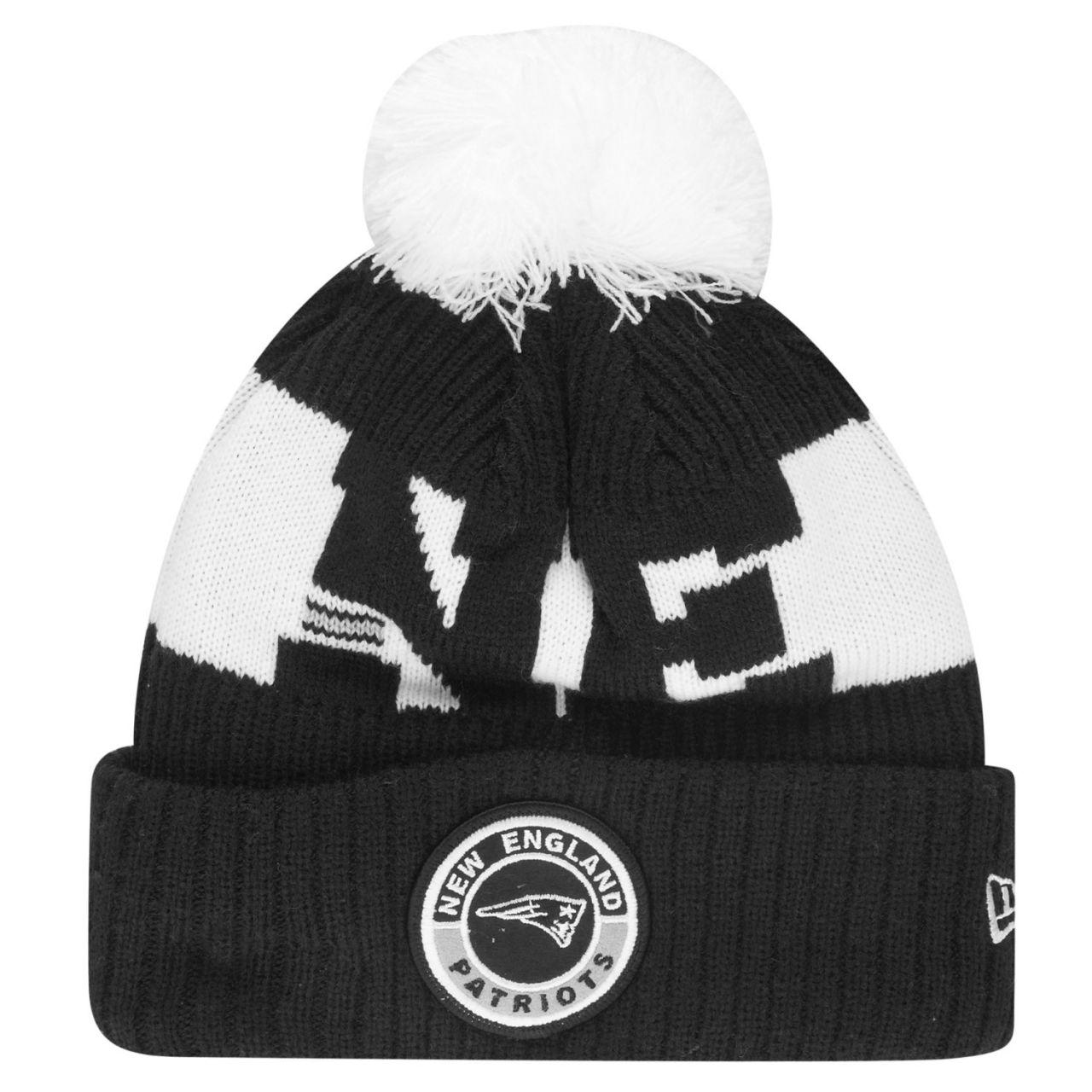 amfoo - New Era NFL SPORT KNIT Winter Mütze - New England Patriots